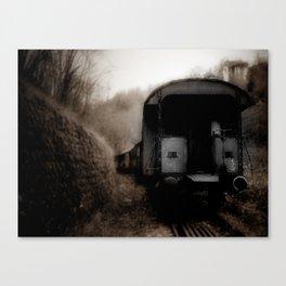 The Ghost Train II Canvas Print