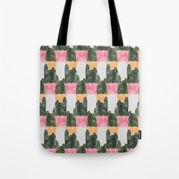 cactus Tote Bags featuring cactus by Grace