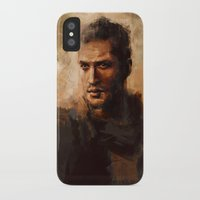mad max iPhone & iPod Cases featuring Max by nlmda