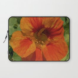 Glorious Nasturtium Laptop Sleeve