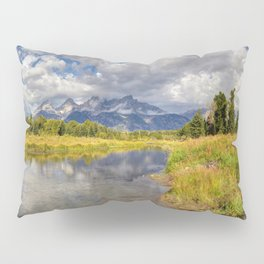 The Grand Tetons Panorama Pillow Sham