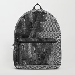 Metal Steps Down Backpack