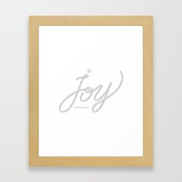 Joy – Ghost Framed Art Print