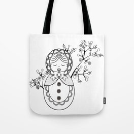 Mind the Child Tote Bag