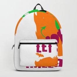 Let's Get Halloweird 11 Giant Caterpillar Monster Backpack