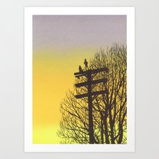 Gone Away Art Print