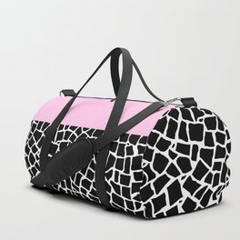 British Mosaic with Pink Boarder Duffle Bag