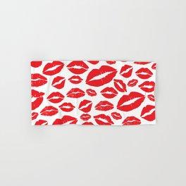 Lips Hand & Bath Towel