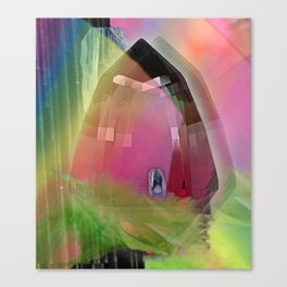RING POP SPACE WAVE Canvas Print