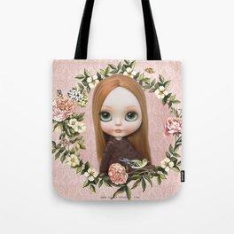 ERREGIRO BLYTHE DOLL ROBINNE FLOWER CROWN Tote Bag