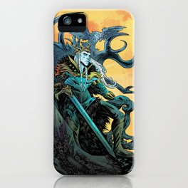Elf King - Fire iPhone Case