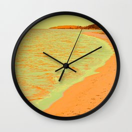 Beach Pastell Wall Clock