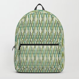 Summery stripes-Green Backpack
