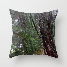 Sparkling Woods 8 Throw Pillow