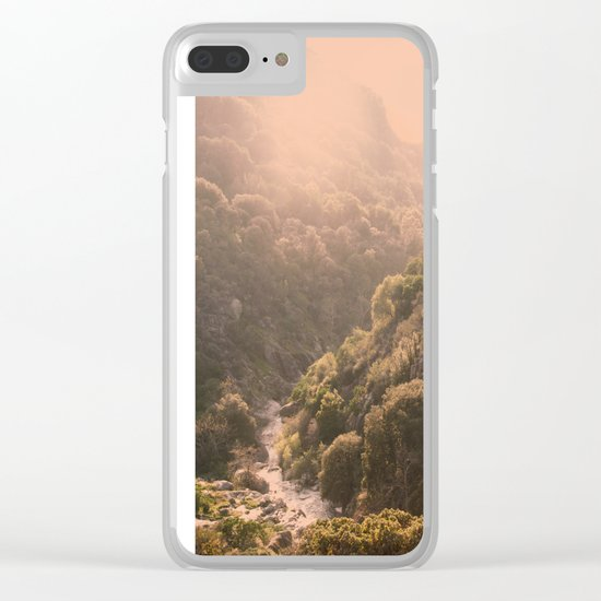 Pastel Summer Clear iPhone Case