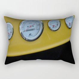 Yellow Dash Rectangular Pillow