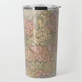 Vintage Map of Ireland (1883) Travel Mug