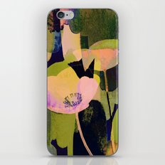 3 abstract flowers  https://society6.com/clemm?promo=X9B3VVZDM7J6 iPhone & iPod Skin