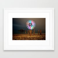 cabin pressure Framed Art Prints featuring Pressure. by Pooka Photography