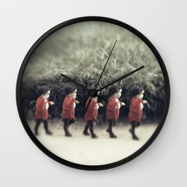 Baby army Wall Clock
