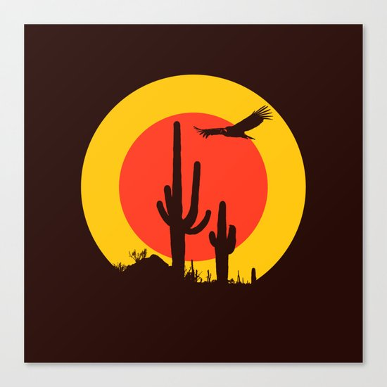 vulture song Canvas Print