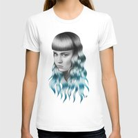grimes T-shirts featuring Grimes by Nestor