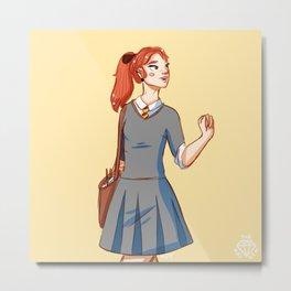 Ginny Metal Print
