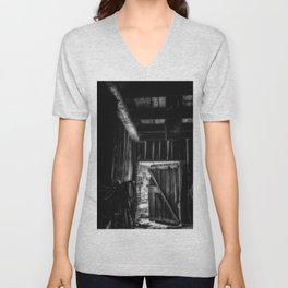 Did you Grow Up in a Barn Unisex V-Neck