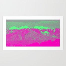 Mountain I Art Print
