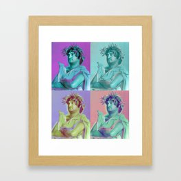 Toga Toga Toga Toga... Framed Art Print