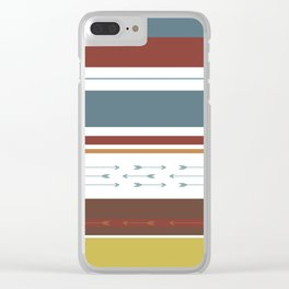 Arrows & Colours II Clear iPhone Case
