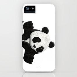 Lace Agate Panda iPhone Case