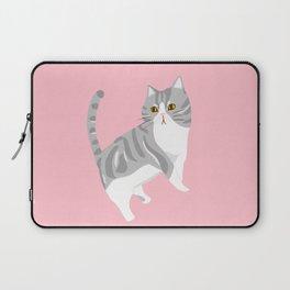 American Shorthair Mix Cat Laptop Sleeve