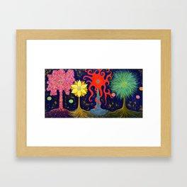 The Last Four Framed Art Print