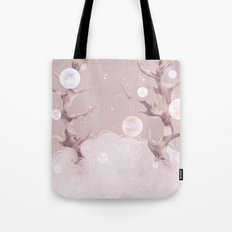 The galaxy trees Tote Bag