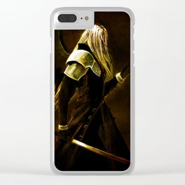 One Winged Angel Clear iPhone Case