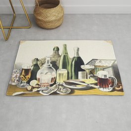 Advertisement The Best Wines Liquors Ales  Lager Beer we are selling Here by LN Rosenthal Rug