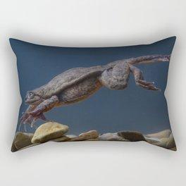 Juliet the Sehuencas Water Frog Rectangular Pillow