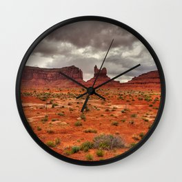 Monument-valley Wall Clock