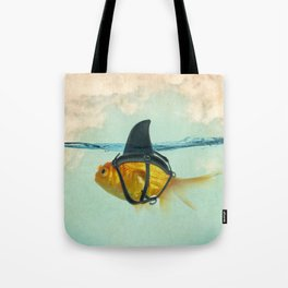 Brilliant Disguise Goldfish Tote Bag