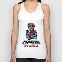 magic the gathering Tank Tops featuring Magic The Gathering The Musical by Molly Coffee
