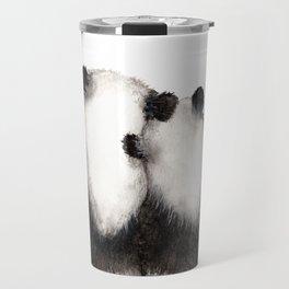 Pandamie Panda Couple Travel Mug