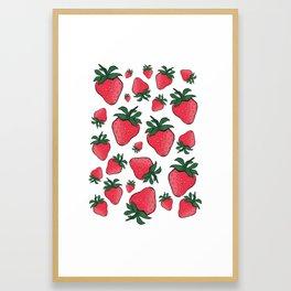 Sweet Like Summer Framed Art Print