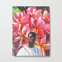 gucci mane floral Metal Print