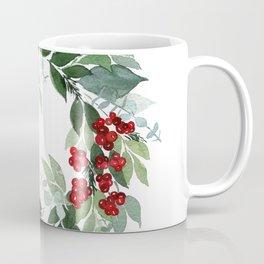Holly Berry Coffee Mug