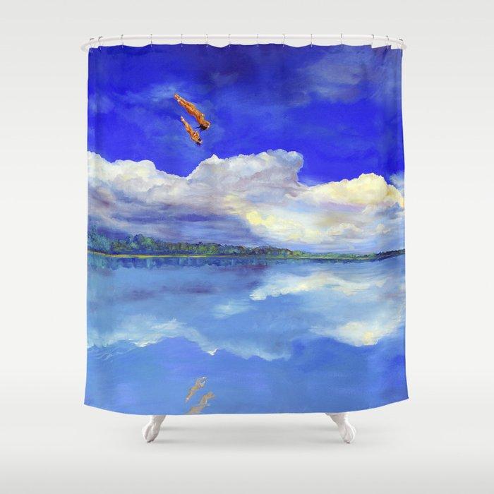 Hijos de la tierra (Sons of Mother Earth) Shower Curtain
