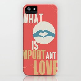 Import love iPhone Case