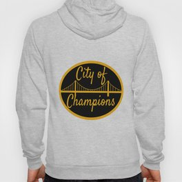 Pittsburgh City Of Champions Bridge Print Hoody