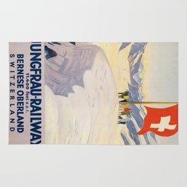 Vintage poster - Switzerland Rug