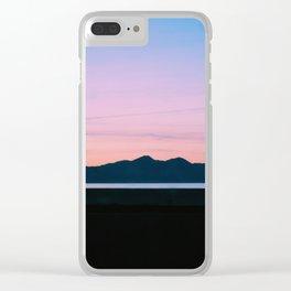 Mountain Salt Clear iPhone Case